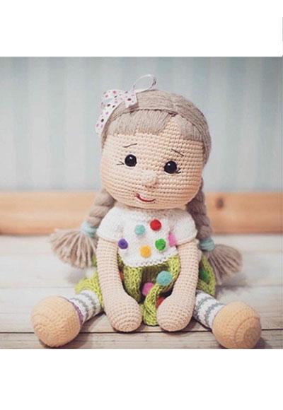 50 cm sari kiz orgu oyuncak bebek | Bebek oyuncakları, Bebek, Sari | 580x400
