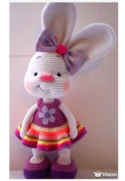 Amigurumi Organik El Örmesi Beyaz Hello Kitty | 580x400