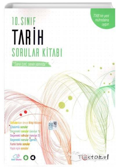 10. Sınıf Tarih Soru Bankası Test Okul Yayınları | 9786052000564